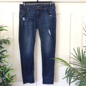 Hudson Collin 32 Distressed Skinny Jeans